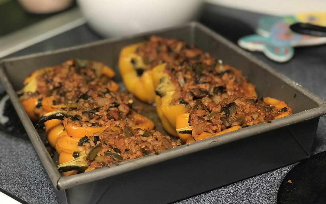 Italian-Stuffed Peppers